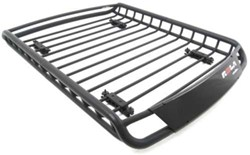 "Rola Roof Mounted Cargo Basket - Steel - 52"" Long x 40-1/2"" Wide x 6"" Deep - 130 lbs"