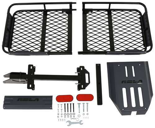 "23x56 Rola Dart Cargo Carrier for 2"" Hitches - Steel - Folding - 450 lbs 23 Inch Wide 59550"