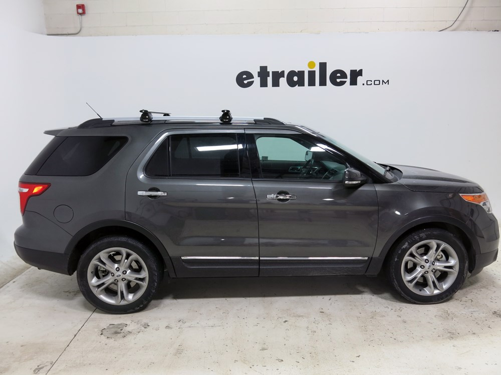 Ford Fiesta Roof Rack >> 2016 Ford Explorer Rola Sport Series Roof Rack with RBU Mounting System for Raised, Factory Side ...