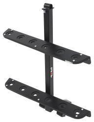 Rola Shovel Rack for Open Utility Trailers and Truck Beds - Steel