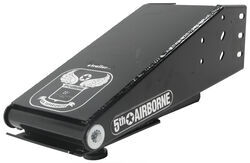 "5th Airborne Premium Fifth Wheel Air Ride Coupler - Standard 12-1/2"" Wide Air Ride Pin Box"