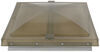Vent Cover for Pre-1995 Elixir Trailer Roof Vent - Smoke Continuous Hinge 61635