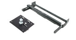 Remov-A-Ball Gooseneck Trailer Hitch with Custom Installation Kit - 30,000 lbs