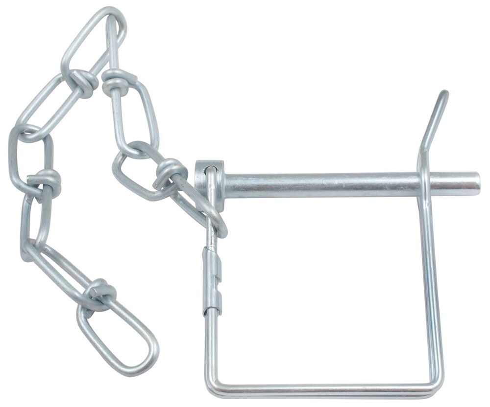 Coupler Safety Pin 1 4 : Coupler and pintle pin quot draw tite hitch accessories