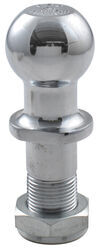 "Pintle Hitch Ball with 1-7/8"" Diameter, 6,000 lb GTW - Chrome"