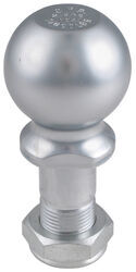 "Pintle Hitch Ball with 2-5/16"" Diameter, 14,000 lb GTW - Chrome"