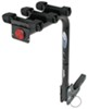 "3 Bike Hitch Mount Folding Rack w/ Rotating Shank, Frame Mount Cradles for 1-1/4"" and 2"""