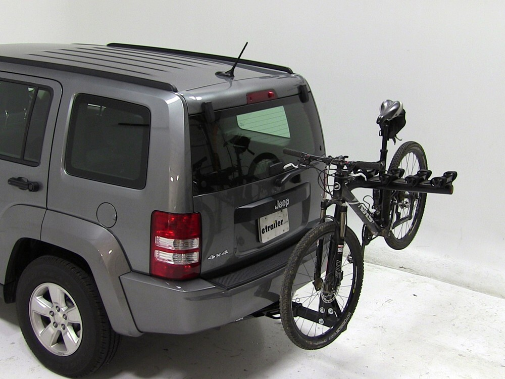 2005 jeep liberty reese eclipse 4 bike rack for 2 hitches. Black Bedroom Furniture Sets. Home Design Ideas