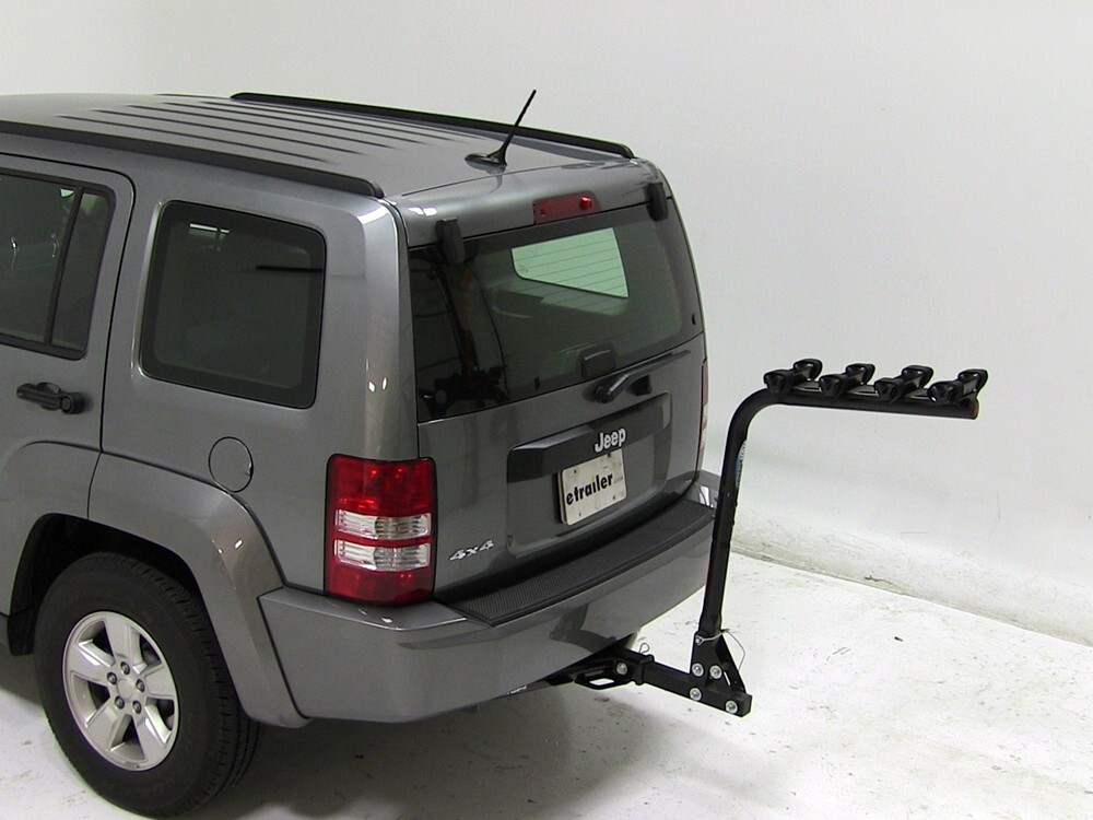 2007 jeep liberty reese eclipse 4 bike rack for 2 hitches. Black Bedroom Furniture Sets. Home Design Ideas