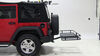 Hitch Cargo Carrier 63153 - 24 Inch Wide - Reese on 2014 Jeep Wrangler