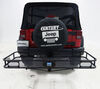 Reese Steel Hitch Cargo Carrier - 63153 on 2014 Jeep Wrangler