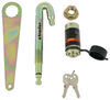 "Tow Ready J-Pin Stabilization Pin and Barrel Lockset for 2"" Trailer Hitches J-Pin 63201"