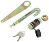 Tow Ready Keyed Unique Hitch Locks - 63201