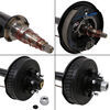 "Dexter Trailer Axle w/ Electric Brakes - E-Z Lube - 6 on 5-1/2 Bolt Pattern - 95"" - 5,200 lbs 6 on 5-1/2 6340624-EB"