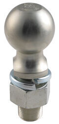 "2-5/16"" Hitch Ball - 1-1/4"" Diameter x 2-3/4"" Long Shank - Zinc - 12,000 lbs"
