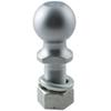 "Hitch Ball with 2-5/16"" Diameter and Medium Shank, 14,000 lbs GTW - Chrome"