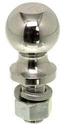 "Hitch Ball with 2-5/16"" Diameter and Medium Shank, 7,500 lbs GTW - Chrome"