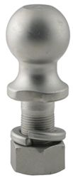 "Hitch Ball with 1-7/8"" Diameter and Medium Shank, 2,000 lbs GTW - Stainless Steel"