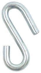 Safety Chain S-Hook - 7/16""