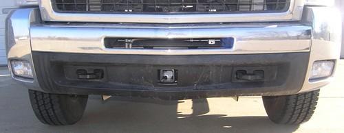 "2008 Chevrolet Silverado Draw-Tite Front Mount Trailer Hitch Receiver - Custom Fit - 2"""