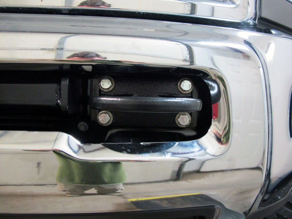 """Draw Tite Hitch >> 2013 ram 2500 Draw-Tite Front Mount Trailer Hitch Receiver - Custom Fit - 2"""""""