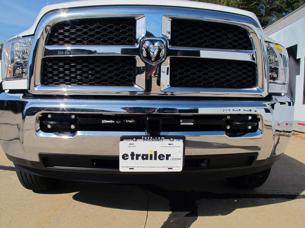 Draw-Tite Front Mount Trailer Hitch Receiver - Custom Fit ...