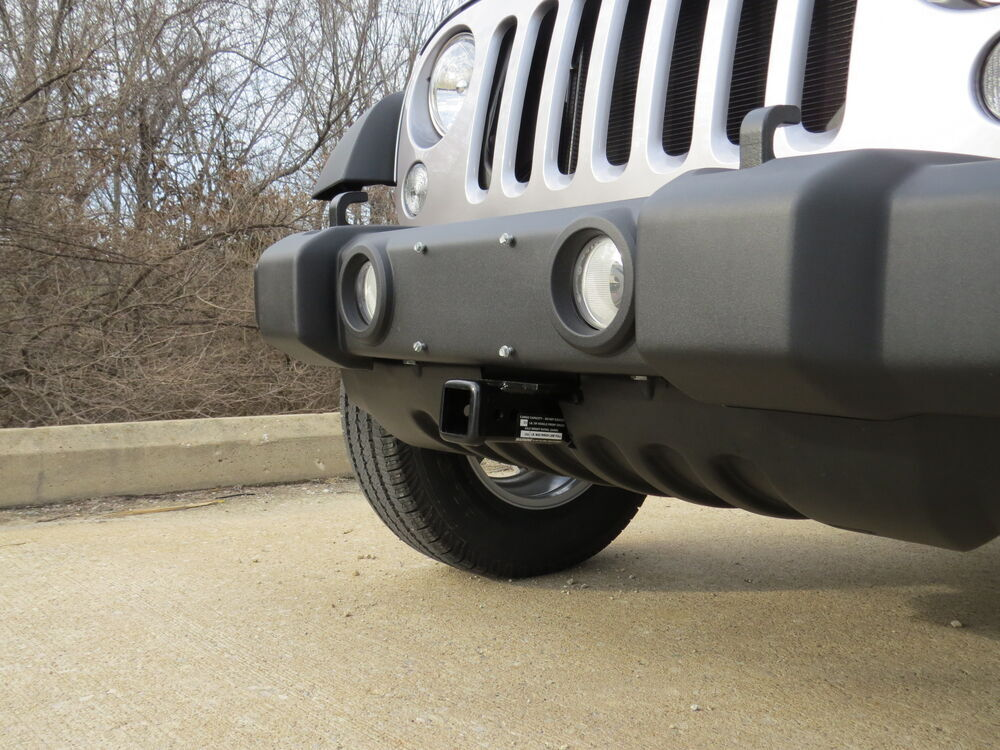 Draw Tite Hitch >> 2007 Jeep Wrangler Unlimited Front Hitch - Draw-Tite