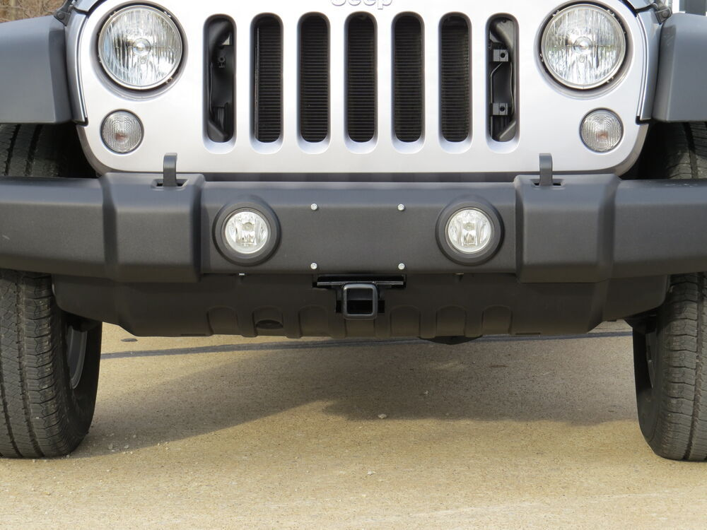 2017 Jeep Wrangler Unlimited Accessories >> 2007 Jeep Wrangler Unlimited Front Hitch - Draw-Tite
