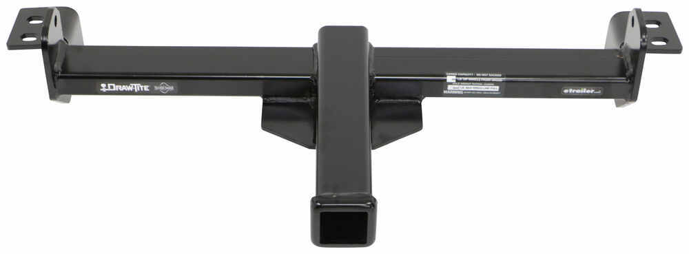"Draw-Tite Front Mount Trailer Hitch Receiver - Custom Fit - 2"" Square Tube 65078"