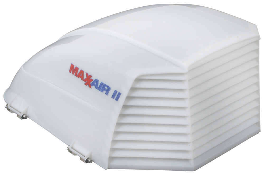 maxxair ii rv and enclosed trailer roof vent cover white. Black Bedroom Furniture Sets. Home Design Ideas