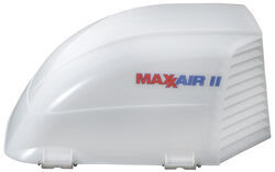 MaxxAir II RV And Enclosed Trailer Roof Vent Cover   White