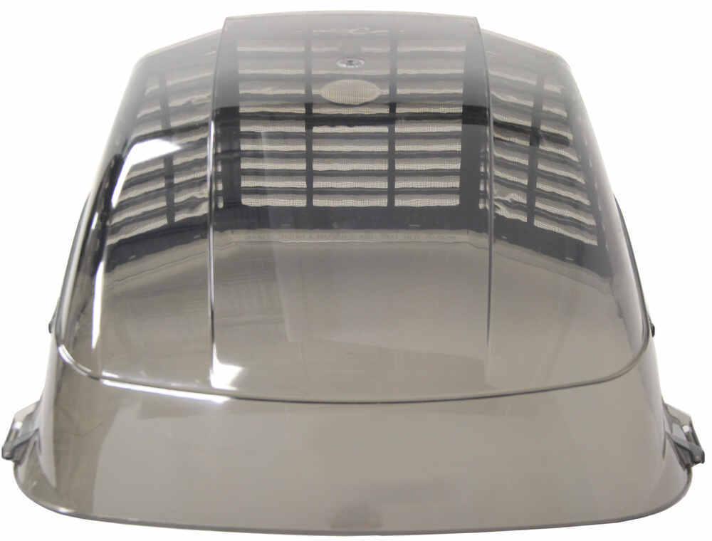 Maxxair Ii Rv And Enclosed Trailer Roof Vent Cover Smoke