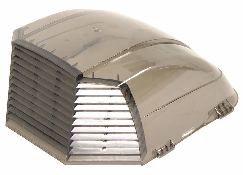 maxxair ii rv and enclosed trailer roof vent cover smoke. Black Bedroom Furniture Sets. Home Design Ideas