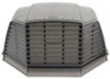 "MaxxAir II RV and Trailer Roof Vent Cover - 22-3/4"" x 18-1/2"" x 9-3/8"" - Smoke Tinted MA00-933073"