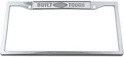 Ford License Plate Large Blue Oval Logo Stainless