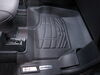 Westin Sure-Fit Custom Auto Floor Liners - Front - Black Contoured 72-110069 on 2019 Ford F-150