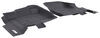 Westin Sure-Fit Custom Auto Floor Liners - Front - Black Contoured 72-110069