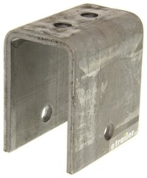 "Front Hanger for 2"" Wide Slipper Springs - 3-9/16"" Tall - 9/16"" Bolt Hole"