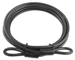 Master Lock 10-mm Braided Steel Cable - 15'