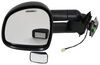CIPA Magna Custom Extendable Towing Mirror - Electric, Heated - Driver Side Black 73511