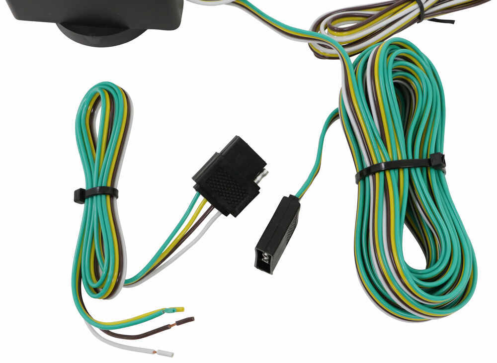 tow ready magnetic tow lights - 4-way flat connectors - 20 ... firebird wiring harness parts accessories ebay #6