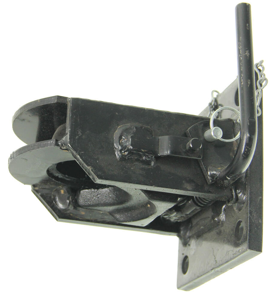 Atwood flat nose trailer coupler black e coat 2 5 16 for The atwood
