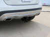 Draw-Tite Concealed Cross Tube Trailer Hitch - 75223 on 2017 Mercedes-Benz GLA Class