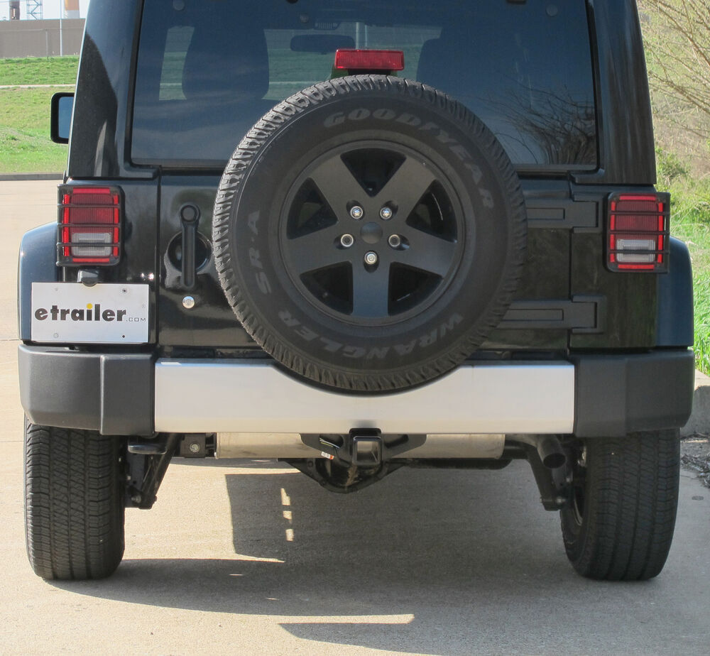 2012 Jeep Wrangler Unlimited Trailer Hitch