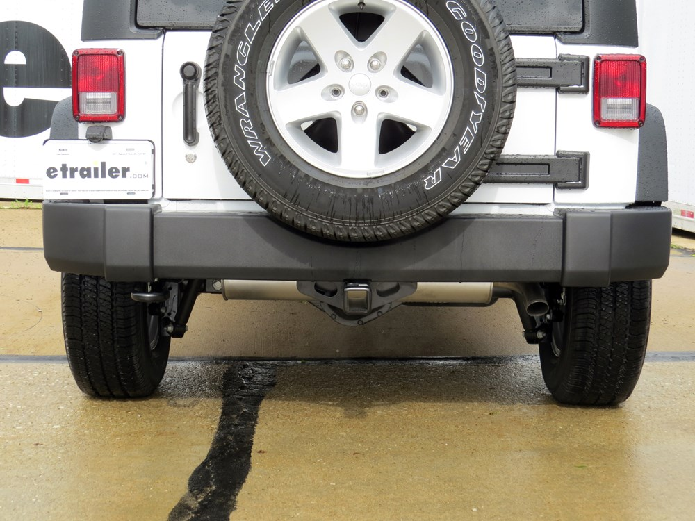 2010 Jeep Wrangler Unlimited Trailer Hitch