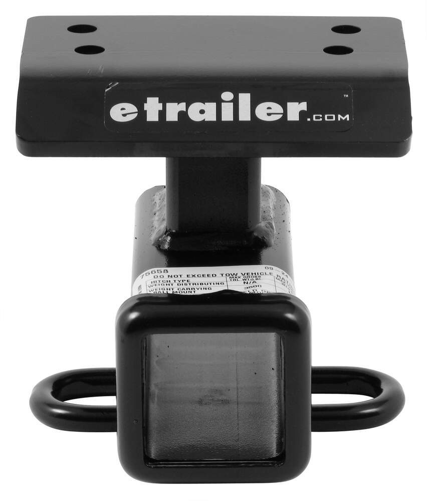 "Draw-Tite Max-Frame Trailer Hitch Receiver - Custom Fit - Class III - 2"" 3500 lbs GTW 75658"