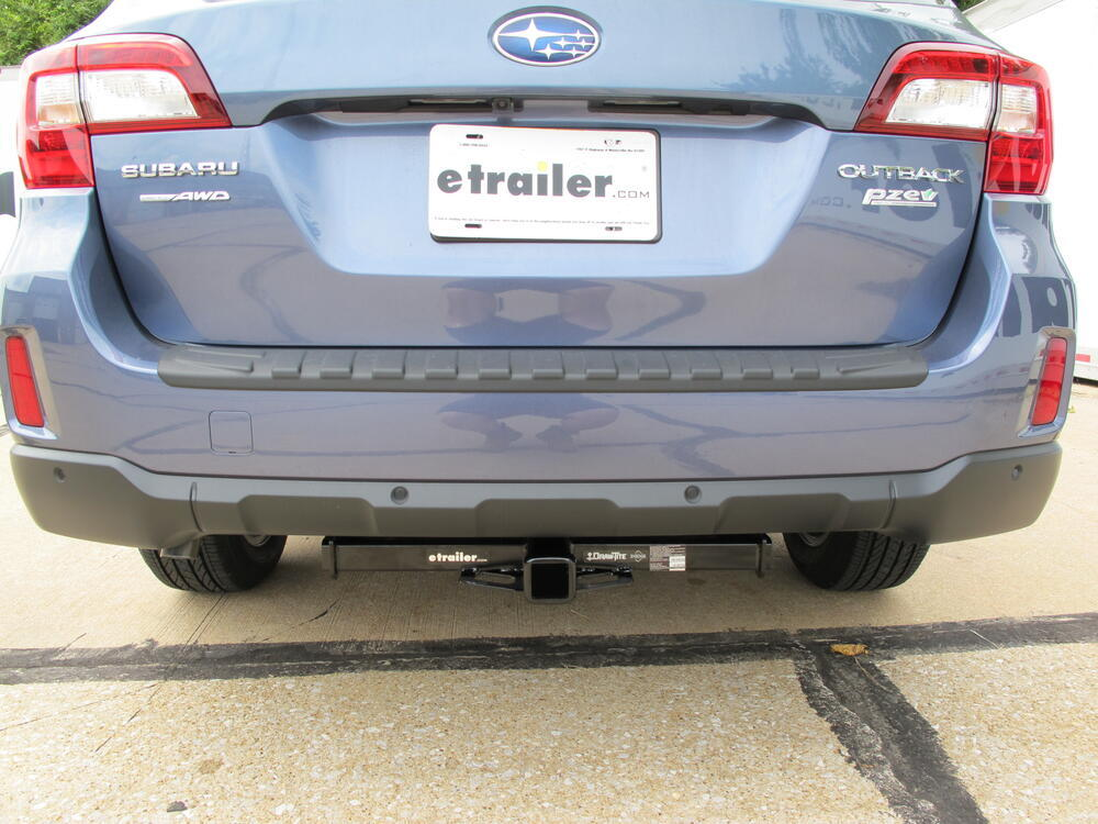 Subaru Crosstrek Hitch >> 2017 Subaru Outback Wagon Trailer Hitch - Draw-Tite
