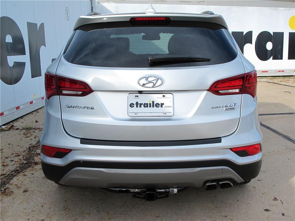Hyundai Santa Fe on Kia Sorento Trailer Hitch