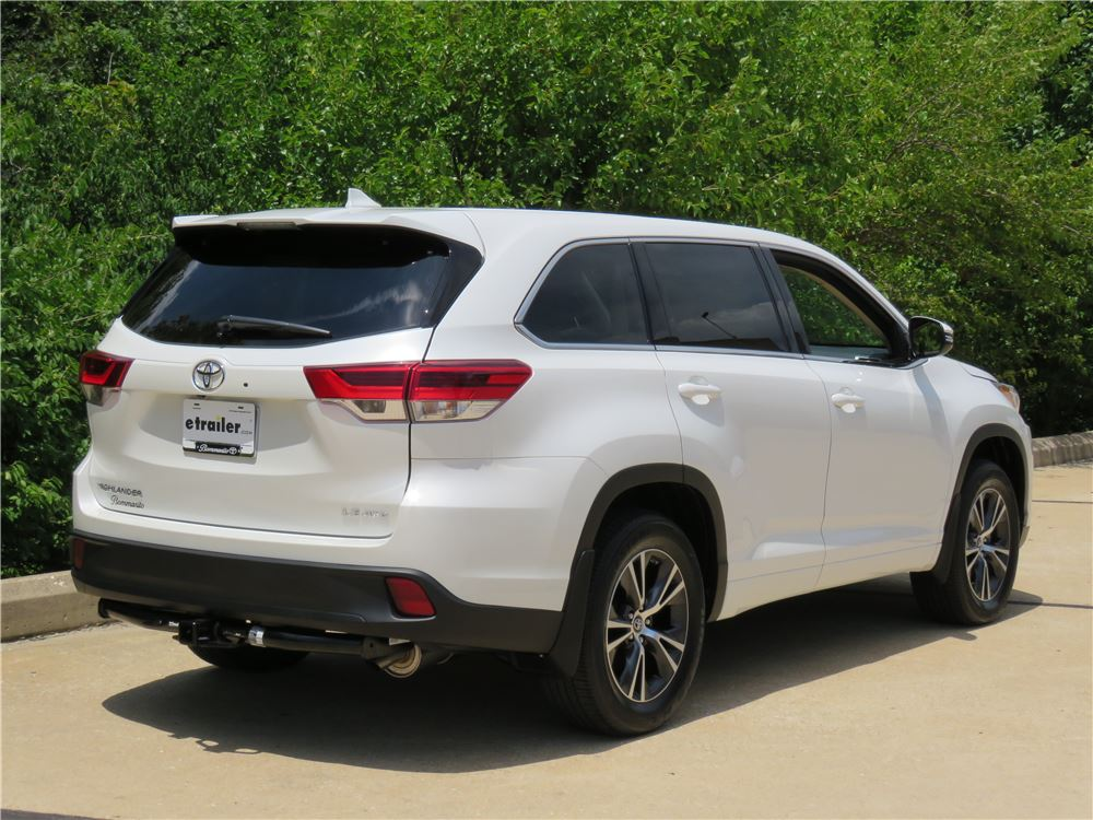2016 Toyota Highlander Factory Hitch Upcomingcarshq Com