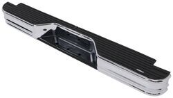 Fey 63000 DiamondStep Universal Black Replacement Rear Bumper Requires Fey vehicle specific mounting kit sold separately